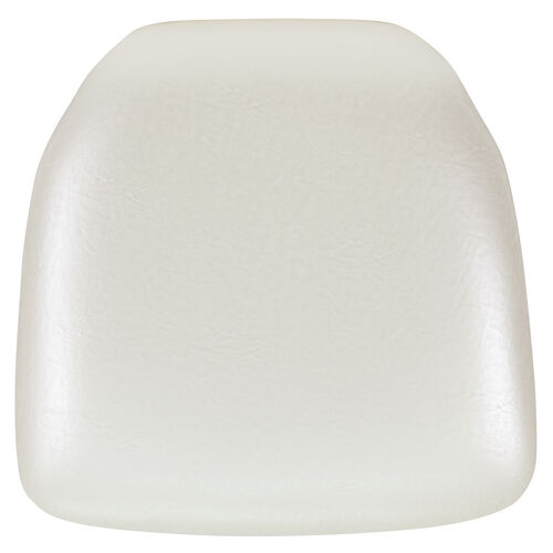 Hard Ivory Vinyl Chiavari Chair Cushion