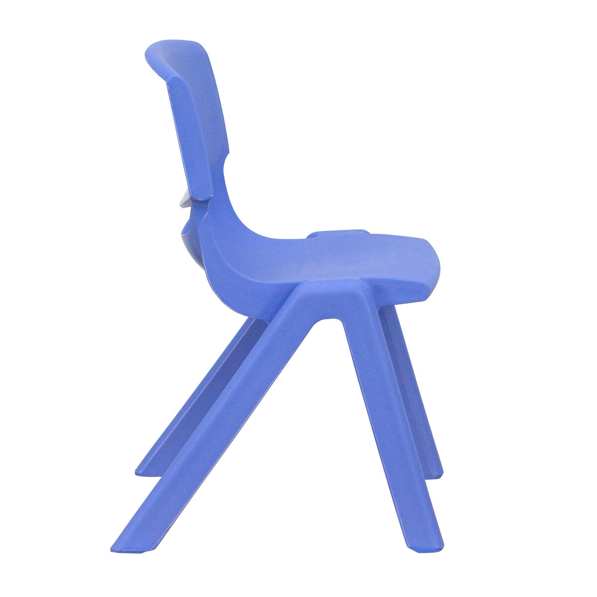 blue school chair. Flash Furniture Blue Plastic Stackable School Chair With 12\u0027\u0027 Seat Height YU-YCX-001-BLUE-GG | StackChairs4Less.com