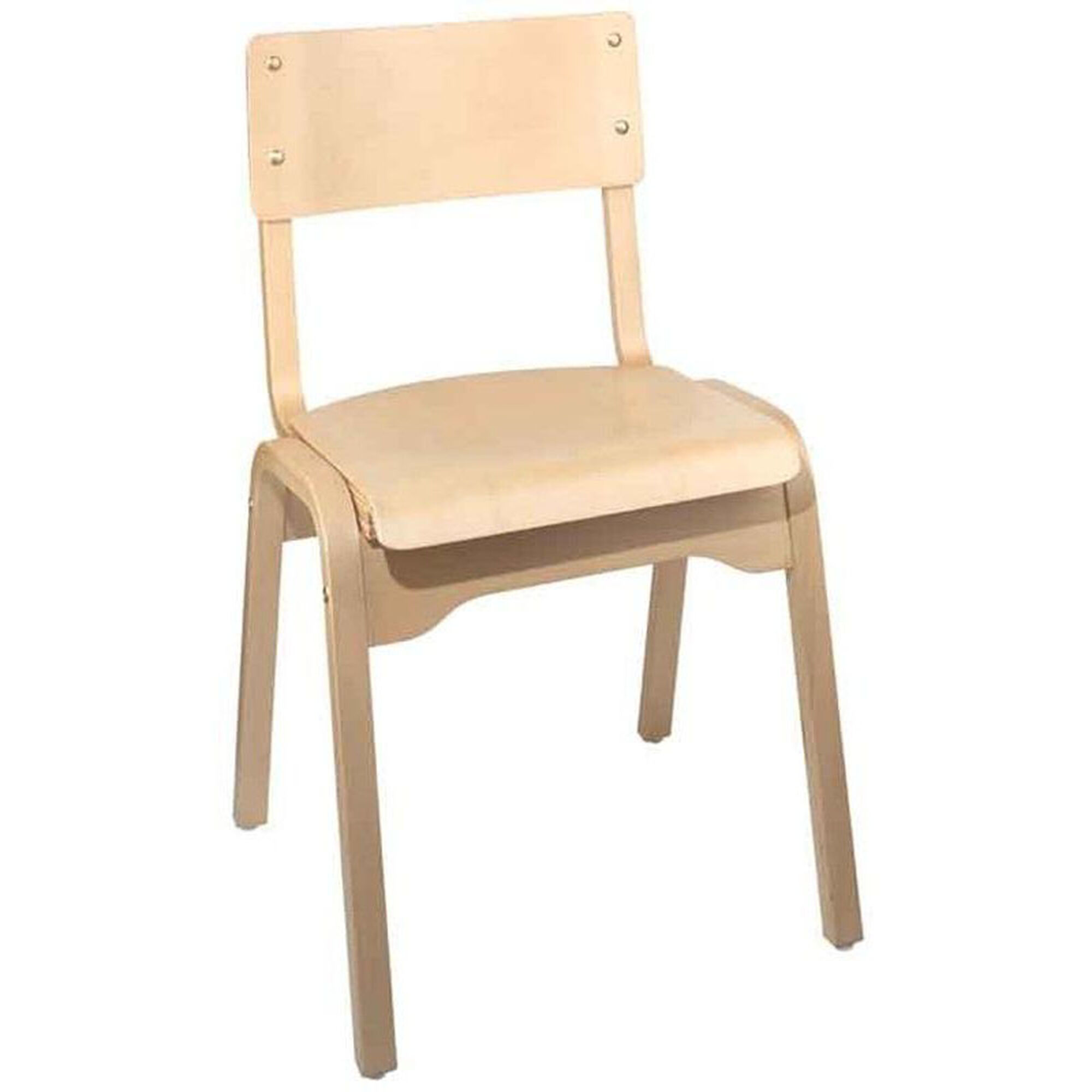 carlo armless chair wood seat carlo stacking chair. Black Bedroom Furniture Sets. Home Design Ideas