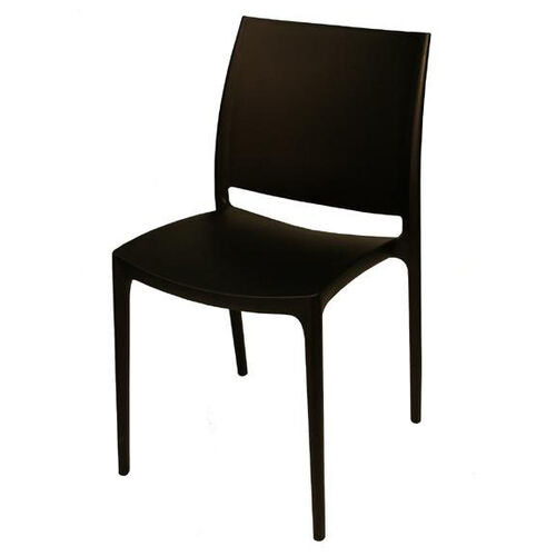 Our Martinique Lightweight Indoor/ Outdoor Stackable Side Chair - Black is on sale now.