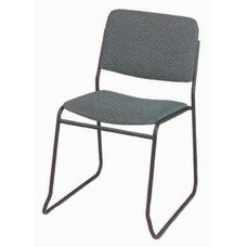 Endurance Contemporary Stack Chair with Contoured Seat - Open Back