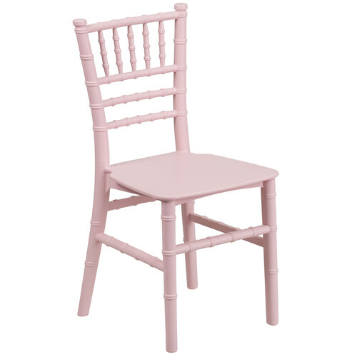 Our Kids Pink Resin Chiavari Chair is on sale now.