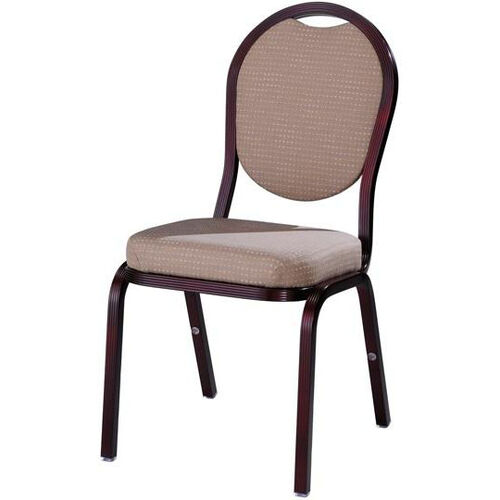 Burgess Como Premium Comfort Banquet Stacking Chair with Round Back