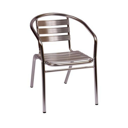 Our Parma Outdoor Stacking Aluminum Arm Chair is on sale now.