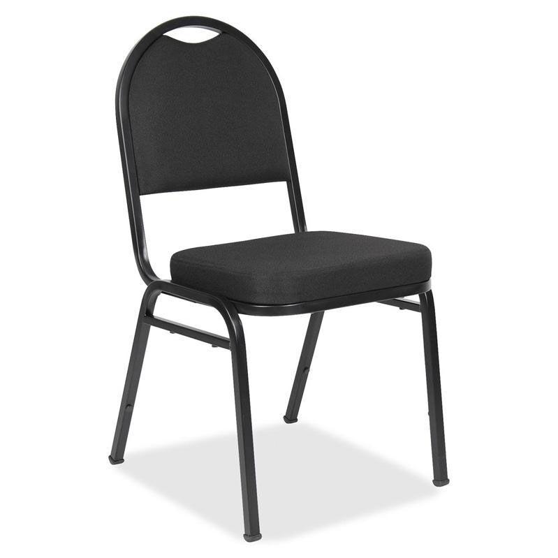 ... Our Lorell Upholstered Stack Chairs   16u0027u0027W X 16u0027u0027W X