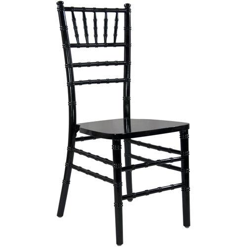 Advantage Black Wood Chiavari Chair