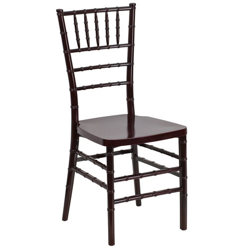"Our HERCULES PREMIUM Series Mahogany Resin Stacking Chiavari Chair with <span style=""color:#0000CD;"">Free </span> Cushion is on sale now."
