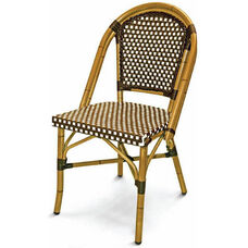Panama Collection Stackable Outdoor Side Chair