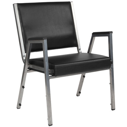 Our HERCULES Series 1500 lb. Rated Black Antimicrobial Vinyl Bariatric Medical Reception Arm Chair is on sale now.