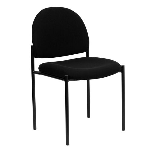 Our Comfort Black Fabric Stackable Steel Side Reception Chair is on sale now.