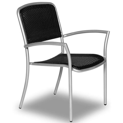 Our Hanna Stacking Chair with Polyethylene Weave and Arms is on sale now.
