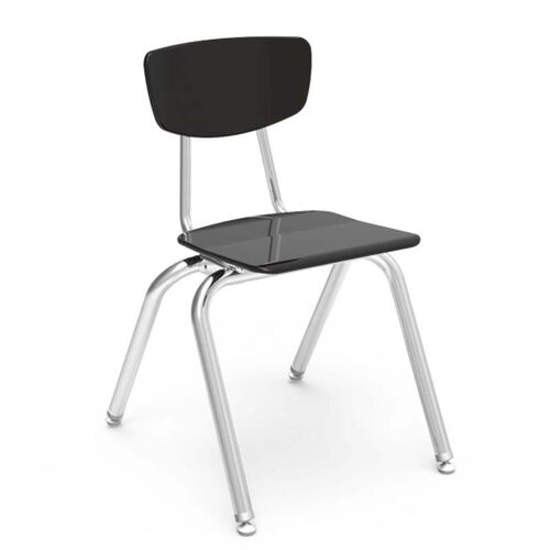 3000 Series Hard Plastic Stack Chair with 16
