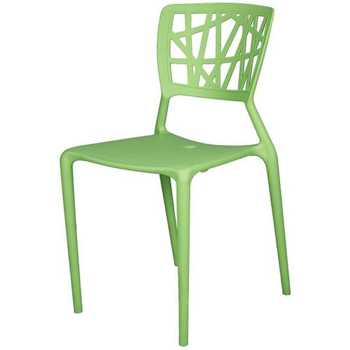 Our Phoenix Outdoor Stackable Armless Side Chair - Green is on sale now.
