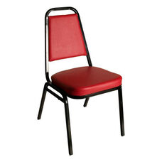 Montour Stacking Chair - Black Frame and 2