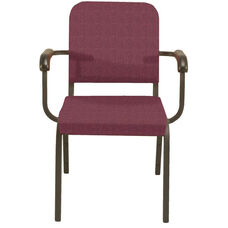 1000 Series Stacking Steel Frame Hospitality Armchair with 2