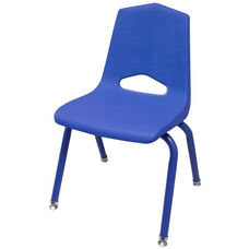 MG Series V-Back Steel Frame Stack Chair with 12