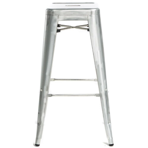Our Oscar Steel Backless Stool - Brushed Gun Metal is on sale now.
