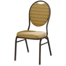 Omega I Premium Comfort Stacking Chair with Teardrop Back