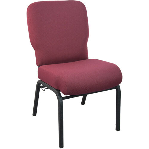 Advantage Signature Elite Maroon Church Chair - 20 in. Wide