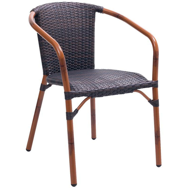 ... Our Cafe Collection Arm Chair With Woven Back And Seat   Safari Is On  Sale Now