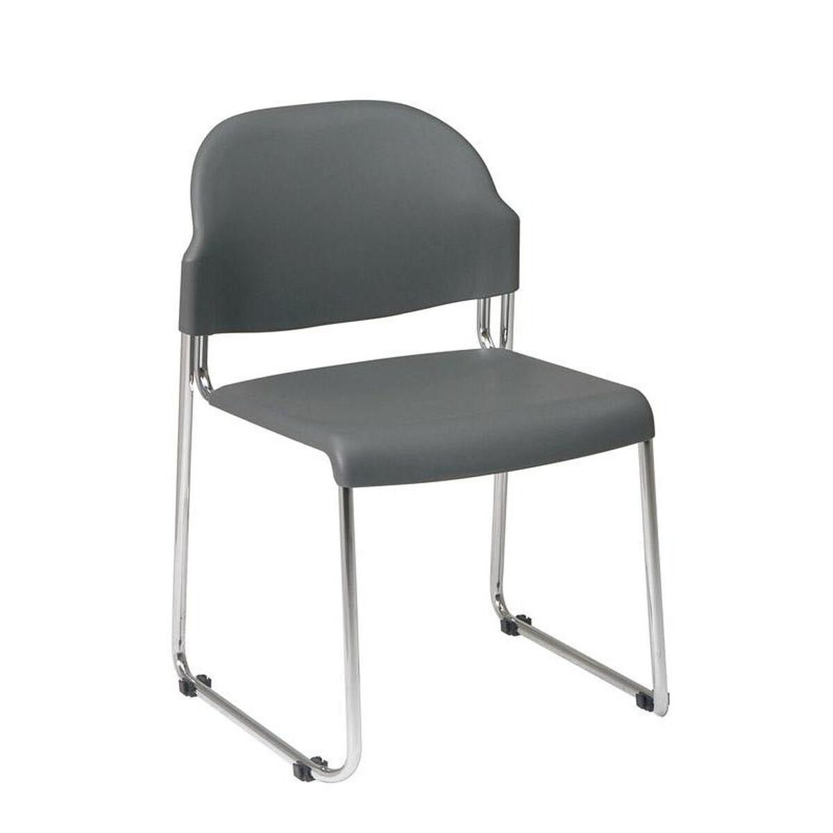 set of 4 work smart stack chair stc3030 3. Black Bedroom Furniture Sets. Home Design Ideas