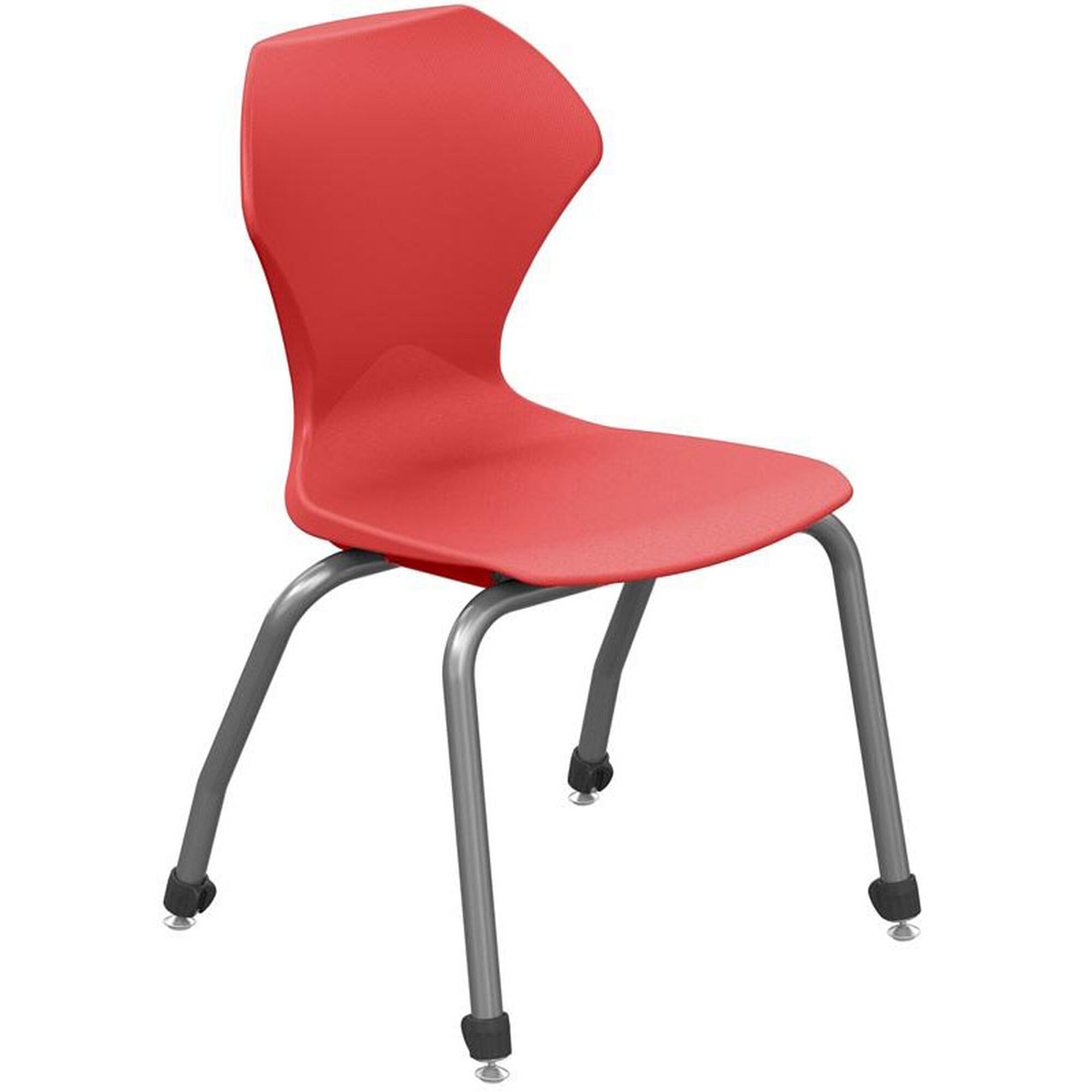apex red plastic stack chair 38101 16gy ard. Black Bedroom Furniture Sets. Home Design Ideas