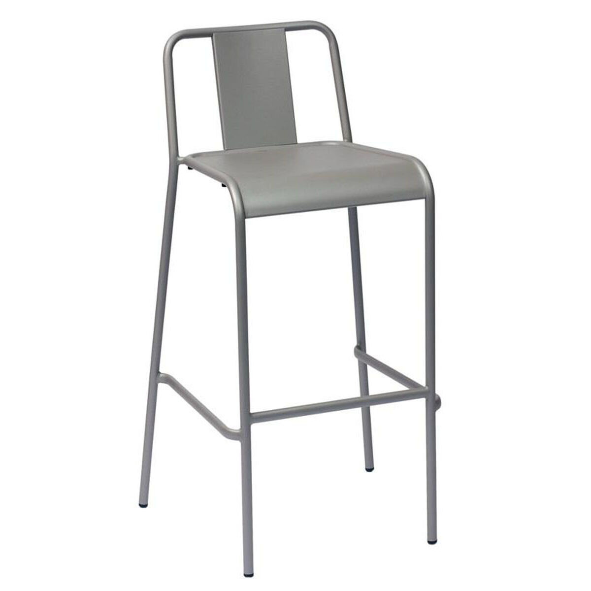 Our Tara X Stackable Outdoor Barstool Anium Silver Is On Now