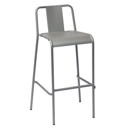 Our Tara X Stackable Outdoor Barstool Titanium Silver is on sale now.