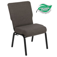 Advantage 20.5 in. Fossil Molded Foam Church Chair