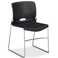 The HON Company Charcoal Stack Chair - Carton of 4