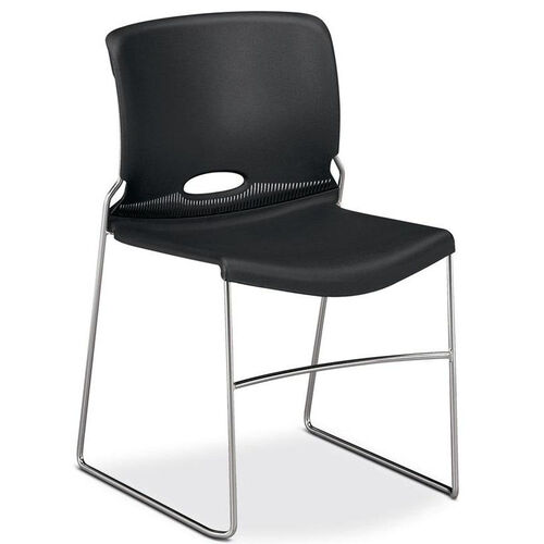 Our The HON Company Charcoal Stack Chair - Carton of 4 is on sale now.
