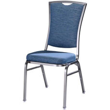 Omega II Premium Comfort Stacking Chair with Curved Rectangular Back