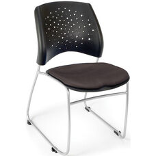 Stars Stack Chair - Slate Gray Seat Cushion