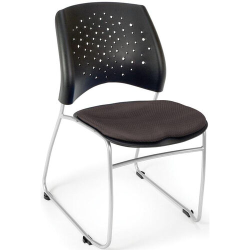 Our Stars Stack Chair - Slate Gray Seat Cushion is on sale now.