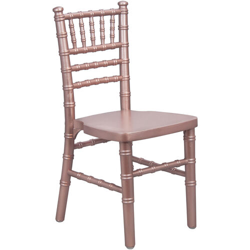 Our Advantage Kids Rose Gold Wood Chiavari Chair is on sale now.