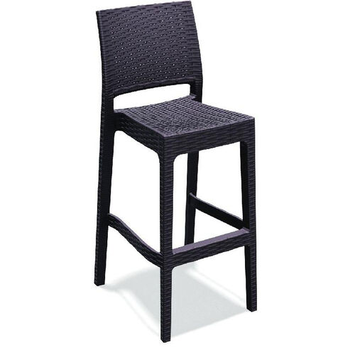 Our Jamaica Outdoor Wickerlook Resin Stackable Bar Stool - Brown is on sale now.
