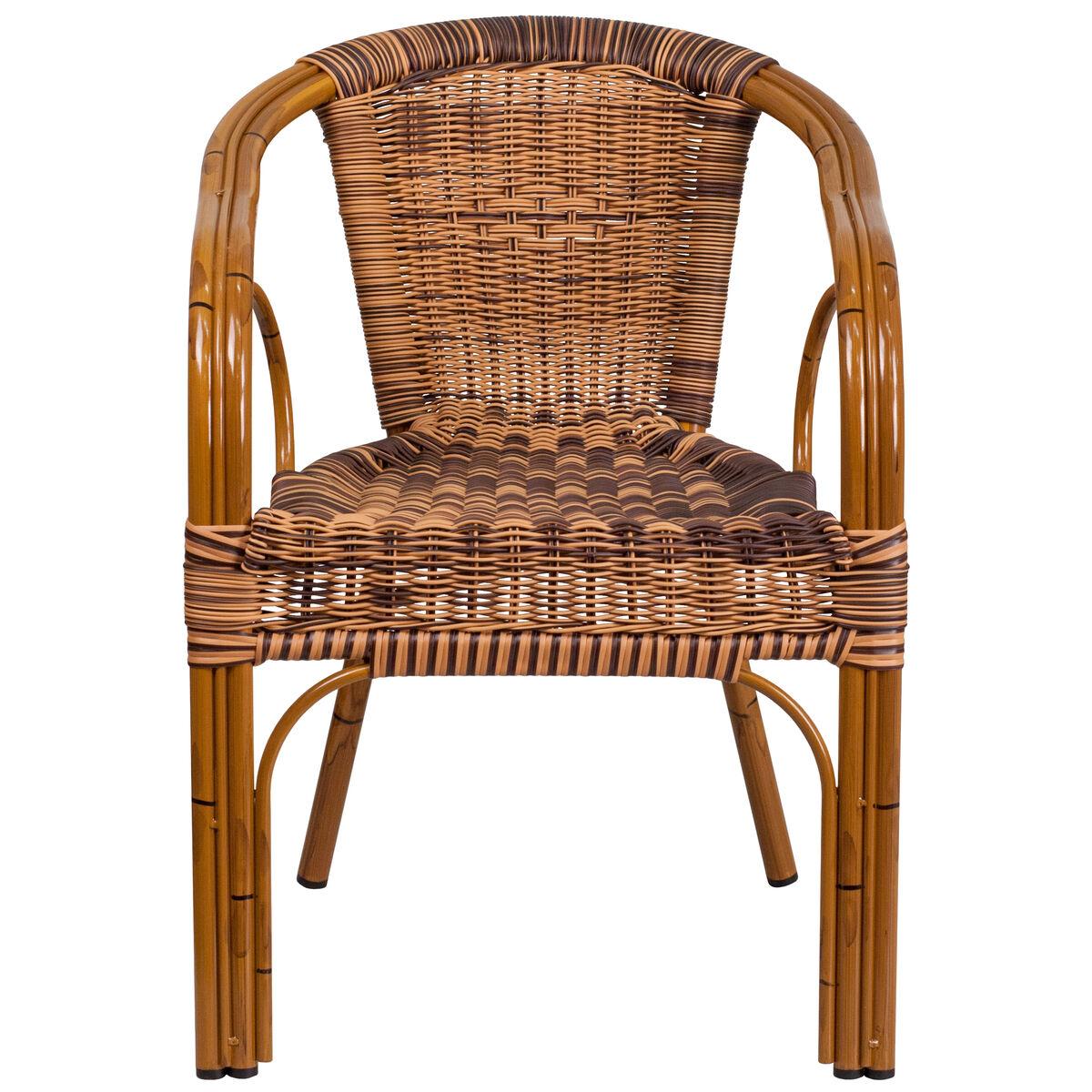Rattan Chair Aluminum Frame Sda Ad632009d Stackchairs4less Com