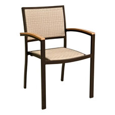 St. Augustine Collection Stackable Outdoor Arm Chair