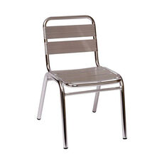 Parma Outdoor Stacking Aluminum Side Chair