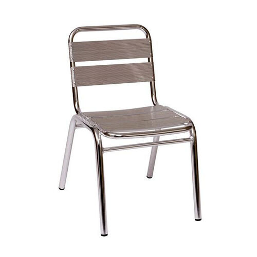 Our Parma Outdoor Stacking Aluminum Side Chair is on sale now.