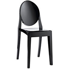 Casper Dining Side Chair in Black