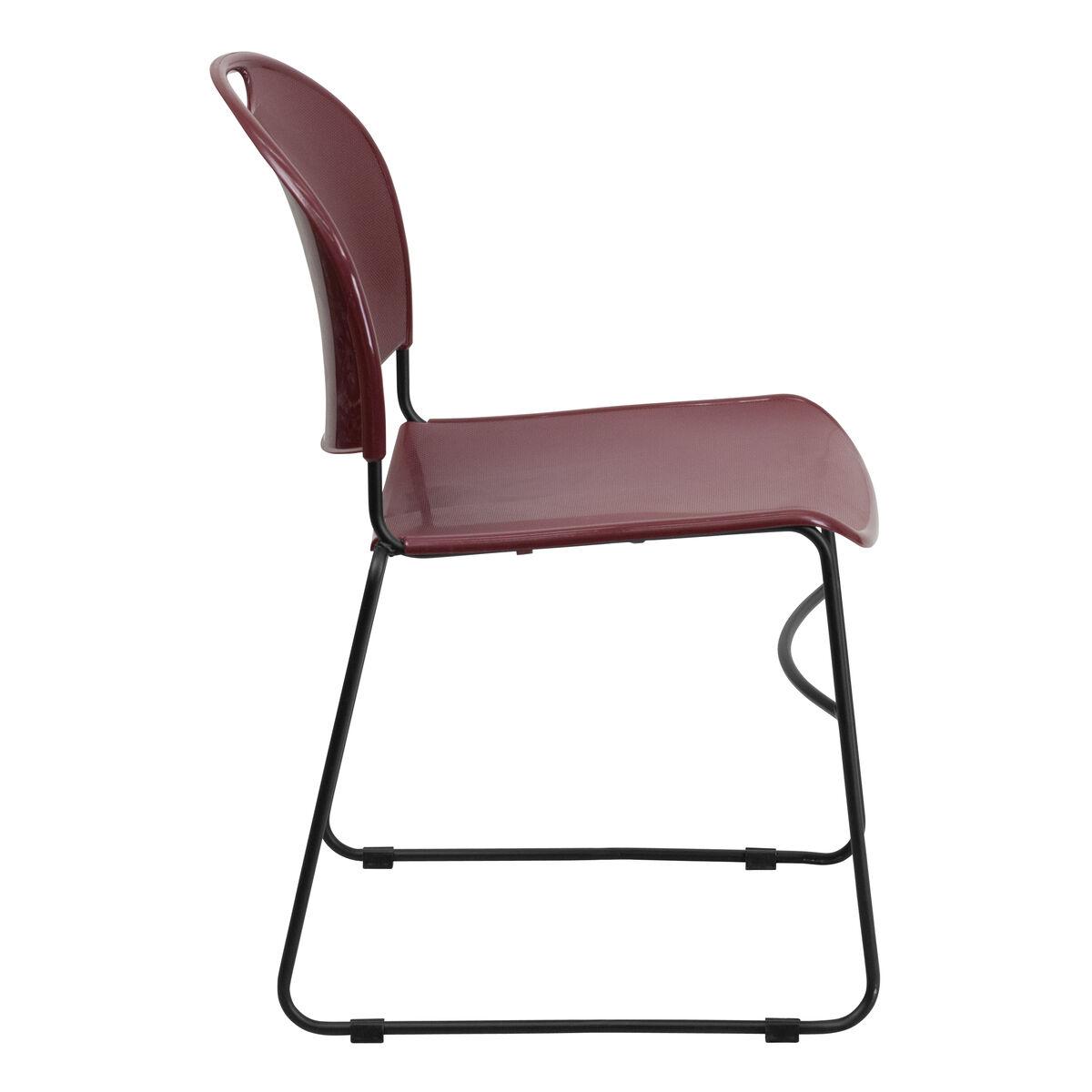 burg stack chair black frame rut 188 by gg. Black Bedroom Furniture Sets. Home Design Ideas