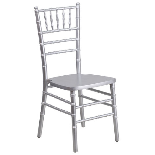 "Our HERCULES Series Silver Wood Chiavari Chair with <span style=""color:#0000CD;"">Free </span> Cushion is on sale now."