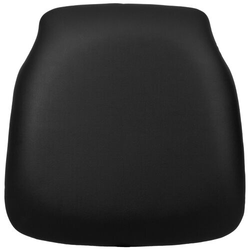 Our Hard Black Vinyl Chiavari Chair Cushion with Tapered Back is on sale now.