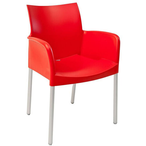 Our Pedrali Stackable Poly Shell Outdoor Arm Chair in Rojo is on sale now.