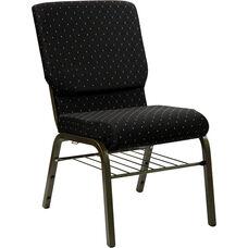 HERCULES Series 18.5''W Church Chair with Book Rack