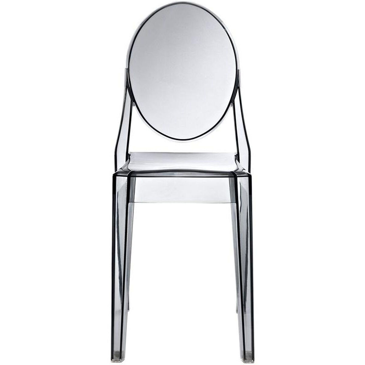 Our Casper Dining Side Chair In Smoked Clear Is On Now
