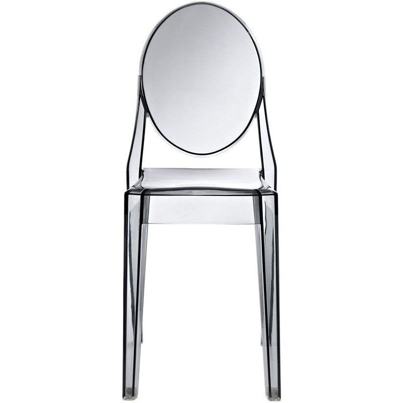 Our Casper Dining Side Chair In Smoked Clear Is On Sale Now.