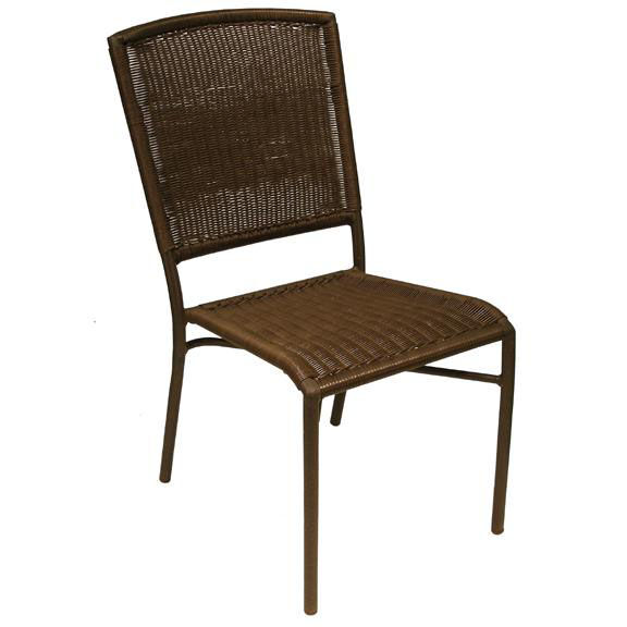 ... Our Aruba I Hand Polished Aluminum Stackable Side Chair - Expresso is on sale now.  sc 1 st  StackChairs4Less & Aluminum Stackable Side Chair C004-E | StackChairs4Less.com