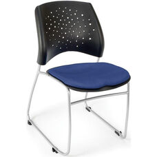 Stars Stack Chair - Royal Blue Seat Cushion